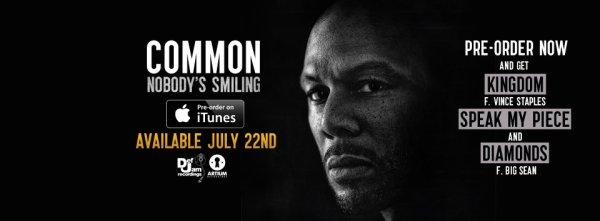Le nouvel album de Common est disponible !
