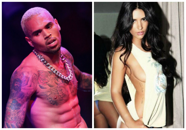 Chris Brown s'�clate avec la copine de Nasri !