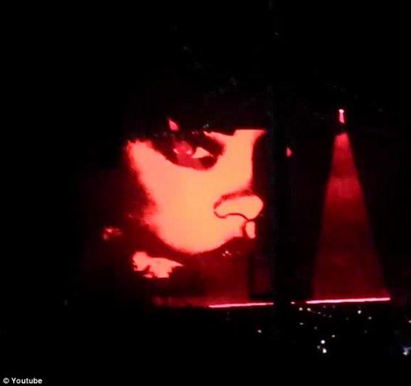 Les photos de Rihanna en plein concert de Drake !