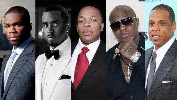 Forbes: le top 5 des artistes Hip-Hop les plus riches
