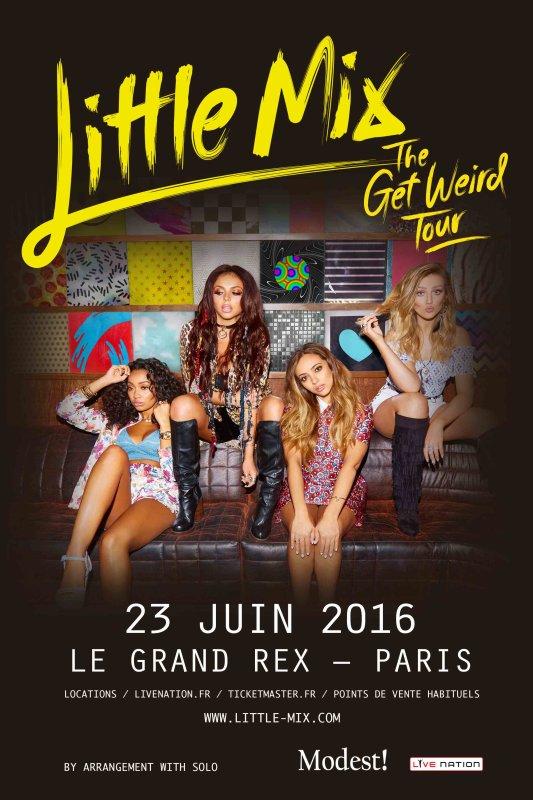 Little Mix en concert