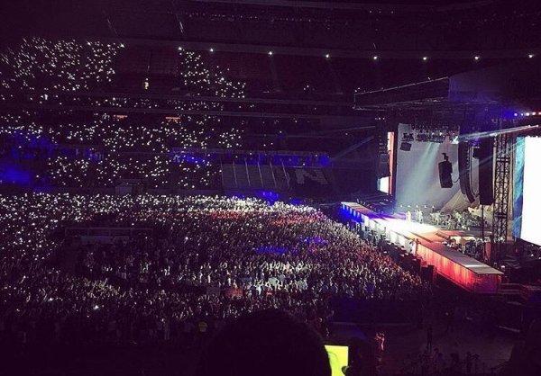 Le concert de Rihanna � Lyon avec Skyrock !