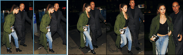 - 02/05/16 - Et puis en soir�e, Selena Gomez a �t� photographi�e se d�pla�ant dans les rues de New-York City[/s#00000ize]On peut apercevoir un nouveau tatouage au niveau du ventre. De plus les marchandises du Revial Tour sont d�sormais en vente (prix exorbitants).  -