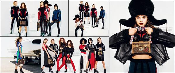 - ─ D�couvrez � pr�sent le photoshoot pour � Series 5 � qui est l'une des collection de la marque Louis Vuitton [/s#00000ize]Depuis un moment, Gomez est en partenariat avec la c�l�bre marque : cette fois elle se glisse dans la peau d'un mannequin pour cette campagne... -