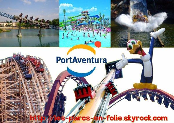 Premier parc port aventura les parcs en folie - Parc d attraction espagne port aventura ...