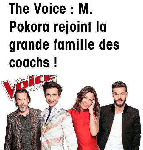 M pokora coach The Voice