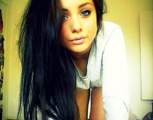 2 me artiche photos filles swag blog - Brun au yeux bleu ...