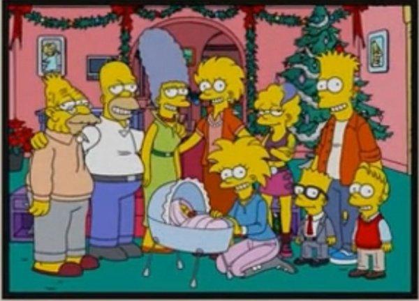 Famille au complet the simpsons - Les simpson nue ...