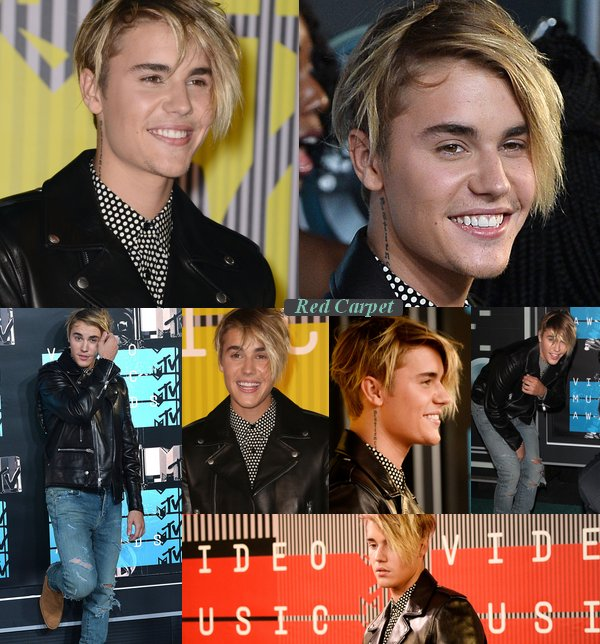 Justin au MTV VIDEO MUSIC AWARDS 2015
