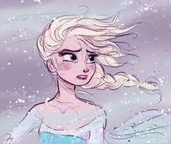 Elsa, La Reine des Neiges (ma chouchoute ^^) <3