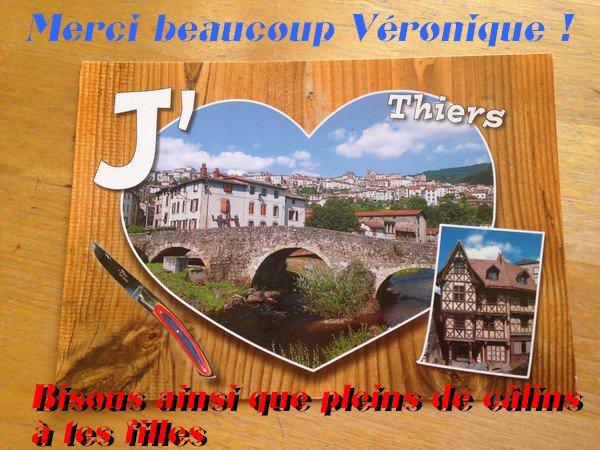 Merci beaucoup V�ronique  !!!!