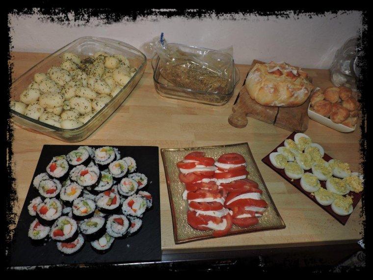 Repas entre amis ma passion la cuisine ma devise le for Repas noel entre amis