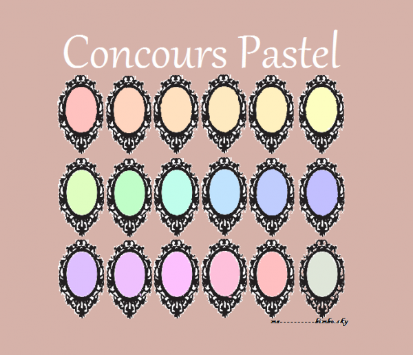 Concour Clair & Pastel