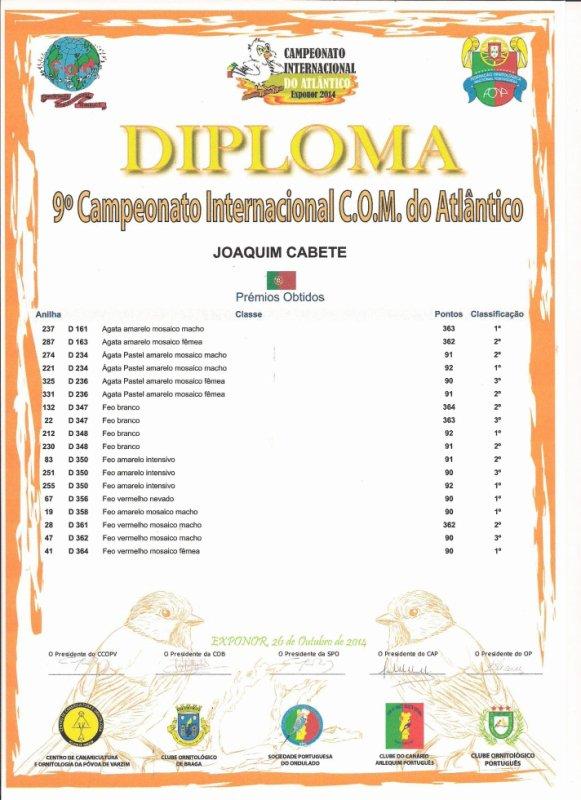 9.� CAMPEONATO INTERNACIONAL DO ATL�NTICO