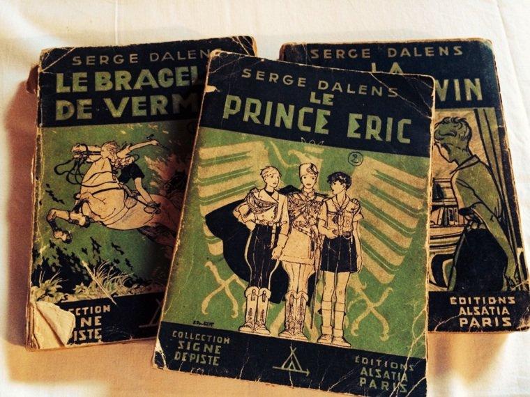 Les livres retrouvés de mon enfance