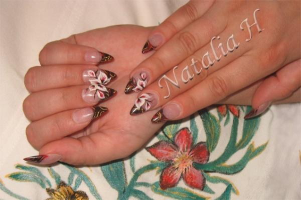 Pose r sine d co en r sine et en peinture blog de ongle natalia for Peinture resine deco
