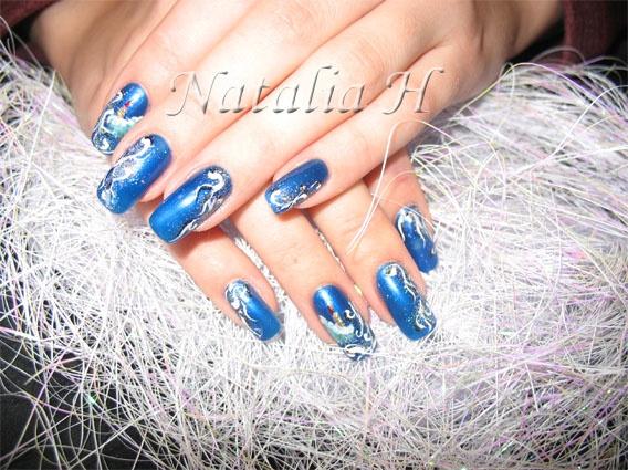 Decoration ongle gel noel for Deco ongle noel