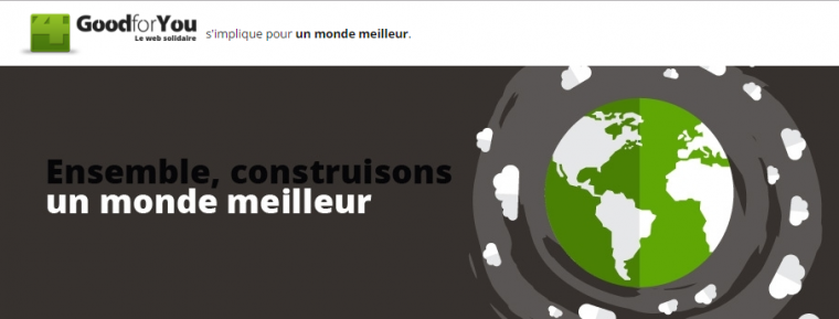 Goodforyou, le web solidaire