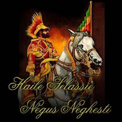 Hailé Sélassié I (1880,1975) - Roots Reggae blessing fire