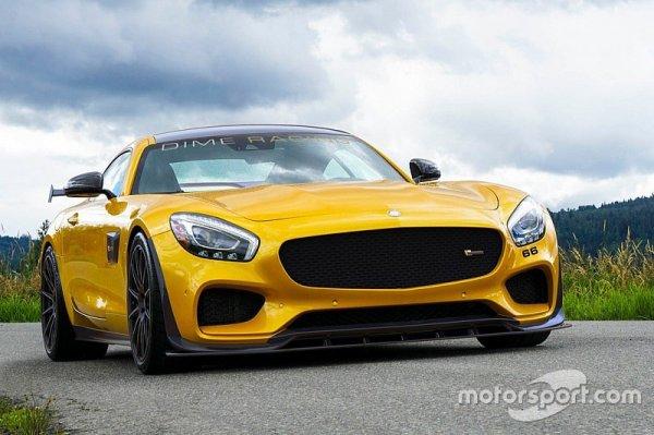 Une Mercedes AMG-GT regonfl�e � 745 chevaux !