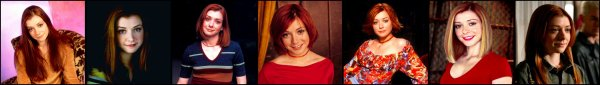 Willow Rosenberg Alyson Hannigan