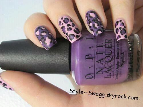 Nail art léopard - Blog de Swag--Style