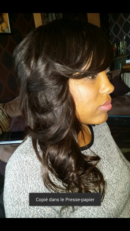 Tissage ferm�, m�ches br�silienne.