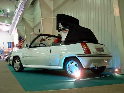 super 5 gt turbo cabriolet voiture a mort. Black Bedroom Furniture Sets. Home Design Ideas