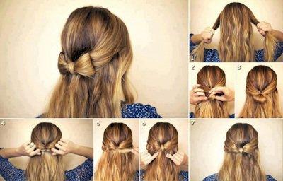 coiffure cheveux mi long facile et rapide