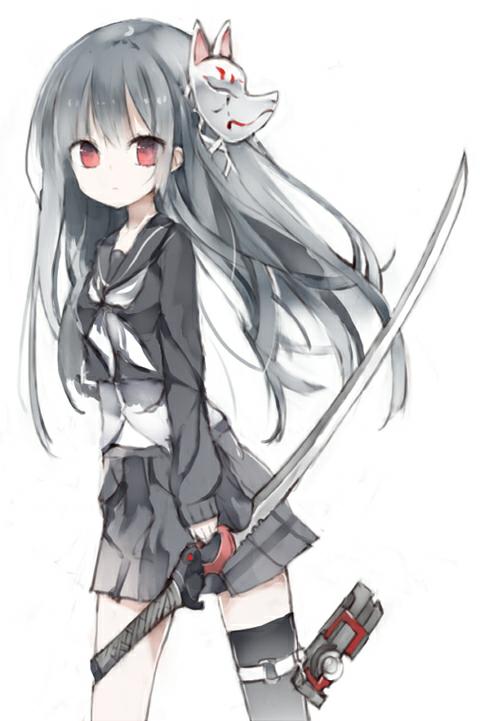 Image manga fille cheveux gris 8 blog de lauro17 - Image manga fille ...