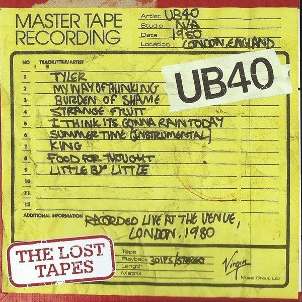 """UB40 - """"THE LOST TAPES"""" (2008)"""