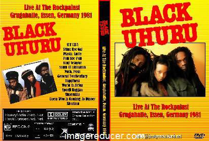 BLACK UHURU - LIVE AT THE ROCKPALAST, ESSEN (1981)