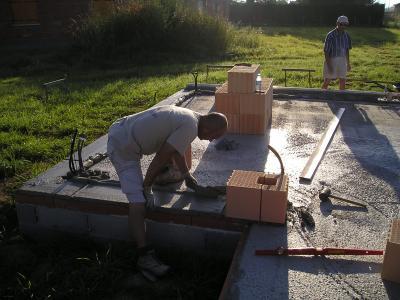 pose de la brique monomur bellenberg 30 et 24 ac2p montauban construire ma maison en m3b. Black Bedroom Furniture Sets. Home Design Ideas
