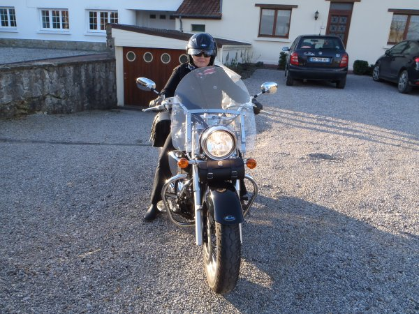 ma nouvelle moto !!!