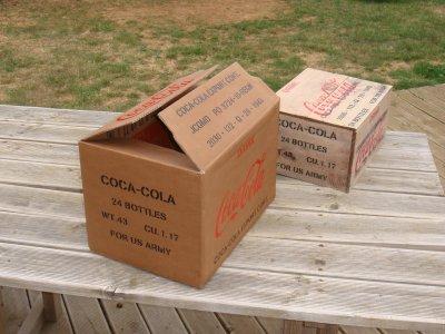 recyclage caisse en carton coca cola philbabs. Black Bedroom Furniture Sets. Home Design Ideas