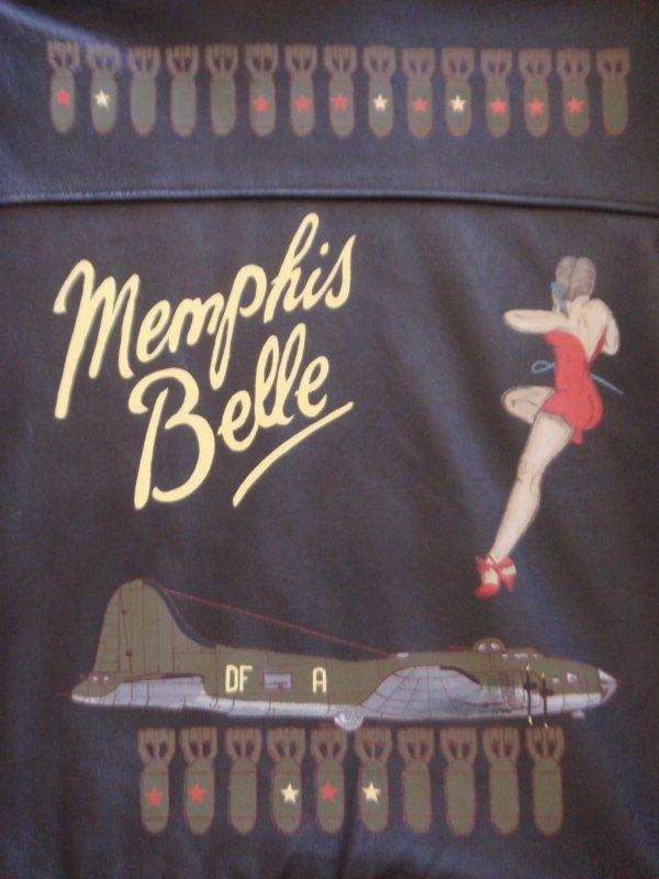 ( Suite ) Conception d'un blouson : MEMPHIS BELLE ( Pour R�gis ) ....