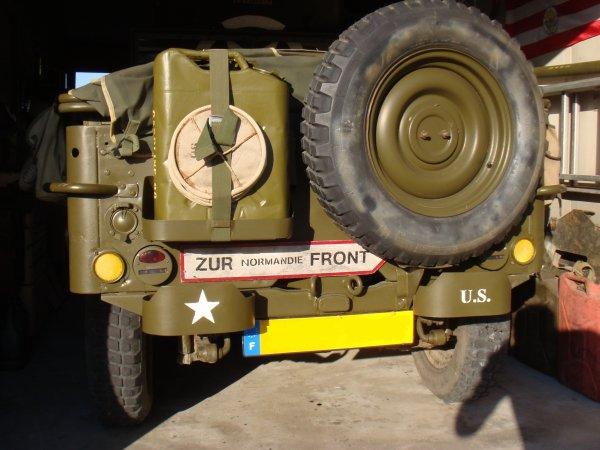 ZUR Normandie FRONT ( sur ma jeep ) ....