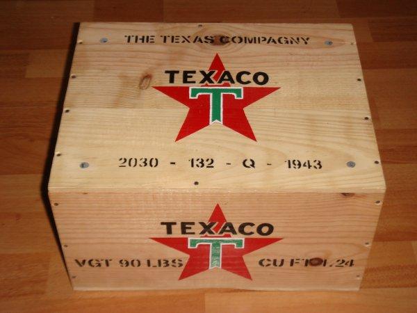 Caisses : TEXACO - MOTOR OILS .....