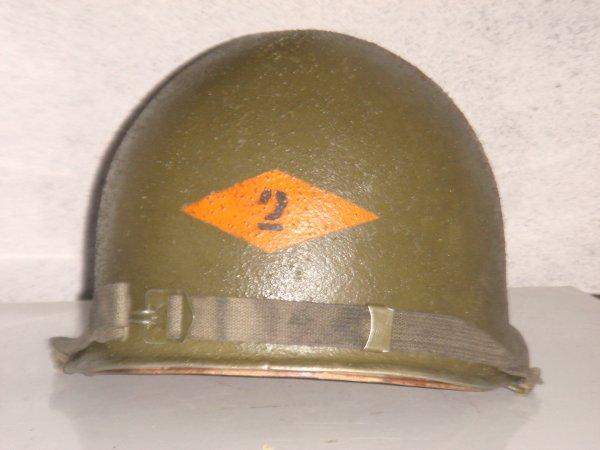 Casque US - 2nd ranger ( Pour Grégoire ) ....