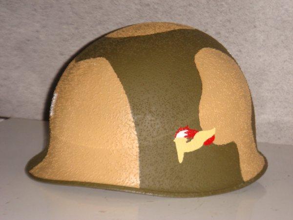 Casque 82th airborne : Pathfinder US Camouflé ....