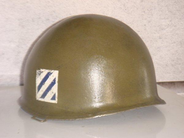 Casque US : 3rd Div. infantry ...