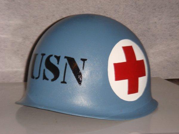 Casque US : US NAVY CORPSMAN MEDIC ....