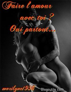 image Je me fais baiser par un lecteur de mon blog