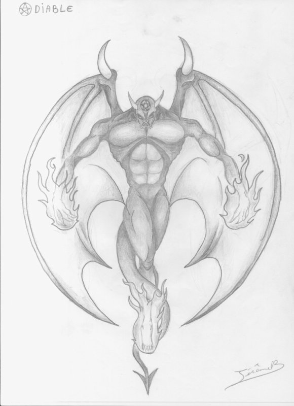 Articles de jeragorn tagg s dessin de diable medieval fantastique artbeast - Dessin de demon ...