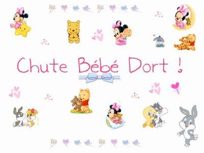 Chut b b dort blog de ptitrond434 for Chut bebe dort pancarte