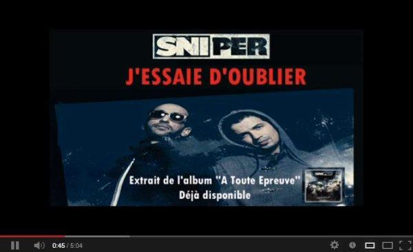 Sniper - J'essaye d'oublier. (2013)