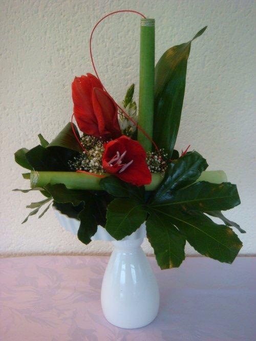Articles de perrine53 tagg s composition florale page for Amaryllis de noel