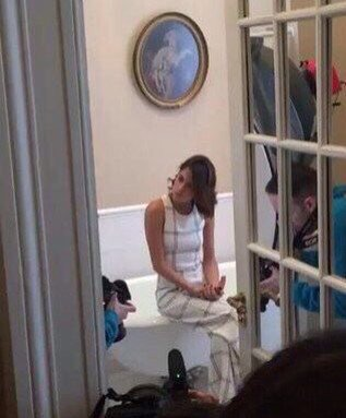 Tini - Shooting MUSTIQUE
