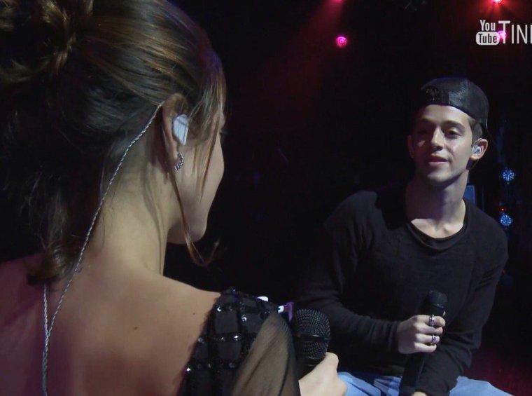 Tini YouTube - Backstage concert Tango Porteno