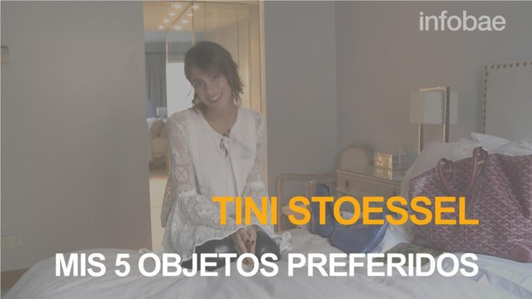 Tini - Shooting Infobae